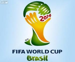 Puzle Logo Mistrovství světa ve fotbale 2014 v Brazílii