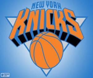 Puzle Logo New York Knicks, týmu NBA. Atlantická Divize, Východní konference