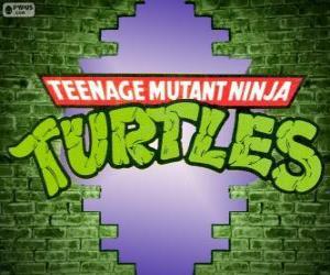 Puzle Logo Ninja Turtles