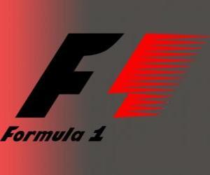 Puzle Logo oficiální Formule 1