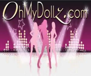 Puzle Logo Oh My Dollz