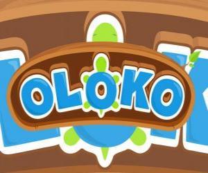 Puzle Logo Oloko strategická hra on-line