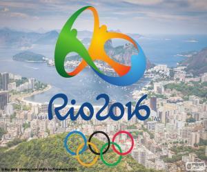 Puzle Logo olympijských her Rio 2016