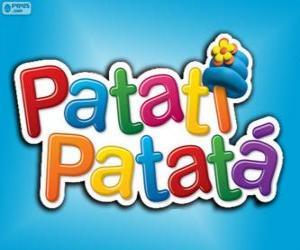 Puzle Logo Patatí Patatá