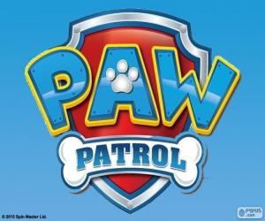Puzle Logo Paw Patrol