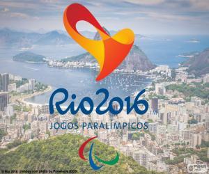 Puzle Logo Rio 2016 paralympijských her