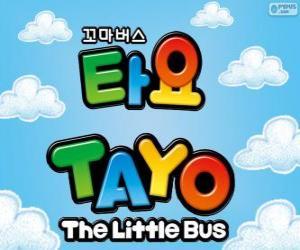 Puzle Logo TAYO malý autobus