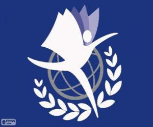 Puzle Logo UNITAR, Institut OSN pro vzdělávání a výzkum