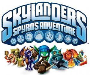 Puzle Logo videohry od Spyro drak, Skylanders: Spyro dobrodružství