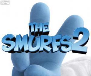 Puzle Logo z filmu Šmoulové, The Smurfs 2