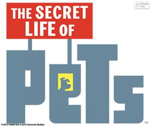 Puzle Logo z The Secret Life of Pets