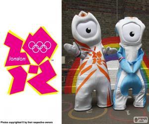 Puzle Londýn 2012 olympijské hry