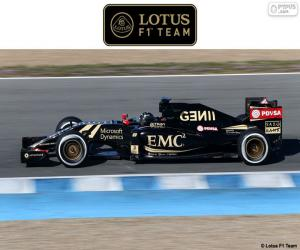 Puzle Lotus F1 Team 2015