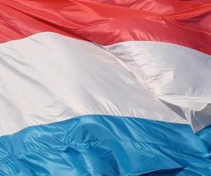 Puzle Lucemburská vlajka