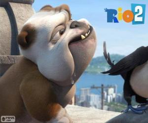 Puzle Luiz ve filmu Rio 2