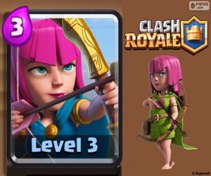 Puzle Lukostřelci Clash Royale