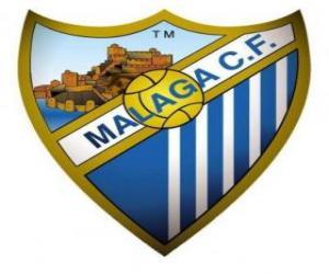 Puzle Málaga CF znak