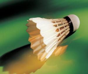 Puzle Míček hrát badminton