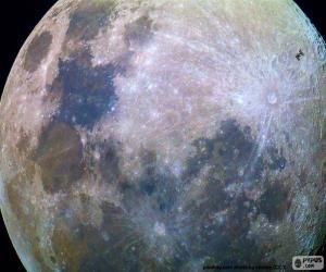 Puzle Měsíc