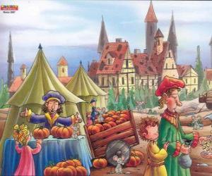 Puzle Město Hamelin je zamořený s krysami, vesničané nevědí, co dělat