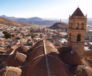 Puzle Město Potosi, Bolívie
