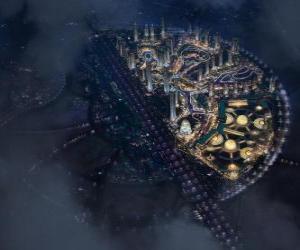 Puzle Město v nekonečnosti vesmíru