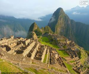 Puzle Machu Picchu, Peru