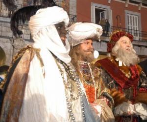 Puzle Magi nebo tří mudrců, Kašpar, Melichar a Baltazar