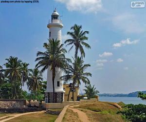 Puzle Maják Galle, Srí Lanka