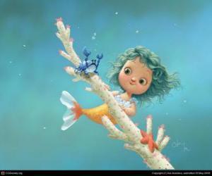 Puzle Malá mořská víla