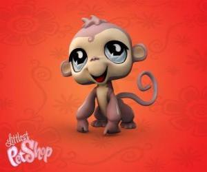 Puzle Malá opice z menších Zverimexu LPS