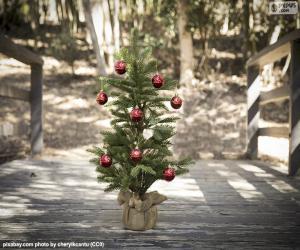 Puzle Malý vánoční stromeček