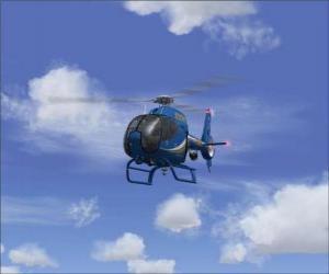 Puzle Malý vrtulník