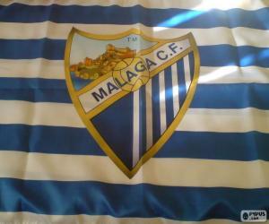Puzle Malaga C.F. vlajka
