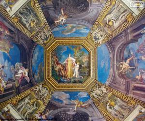 Puzle Malba kopule z Vatikánu