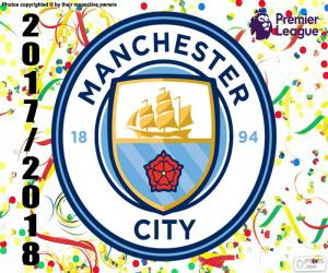 Puzle Manchester City, Premier League 2017-18