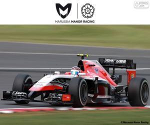 Puzle Manor Marussia 2015