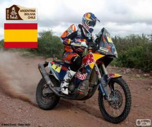 Puzle Marc Coma, Dakar 2015