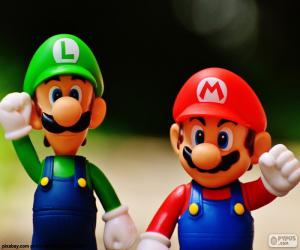Puzle Mario a Luigi
