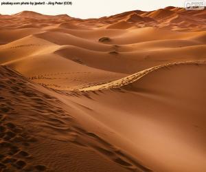 Puzle Marocké pouště