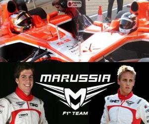 Puzle Marrussia F1 Team 2013