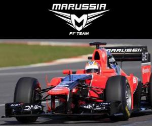 Puzle Marussia MR01 - 2012 -