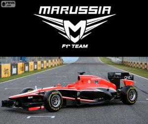 Puzle Marussia MR02 - 2013 -