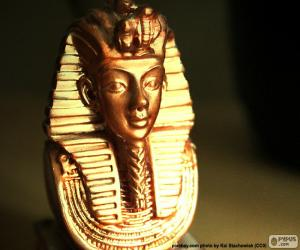 Puzle Maska faraona Tutanchamona