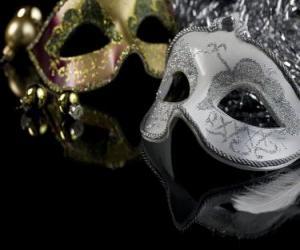 Puzle Masky pro rok-end party