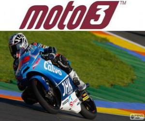 Puzle Maverick Viñales, 2013 mistr světa Moto3