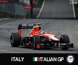 Puzle Max Chilton - Marussia - Monza, 2013