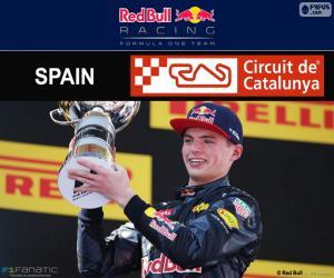 Puzle Max Verstappen, Grand Prix Španělska 2016