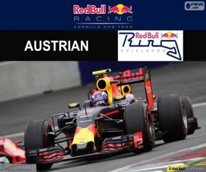 Puzle Max Verstappen Grand Prix Rakouska 2016