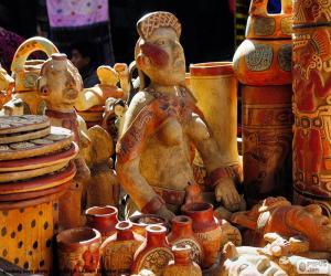Puzle Maya keramiky